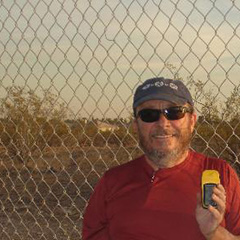 Mondo at the Phoenix salt mounds