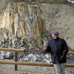 Mondo at the Florissant Fossil Beds
