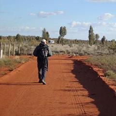 Mondo Stage Exit at the Outback, Australia